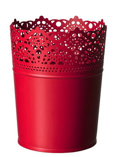 Red Lace Cup