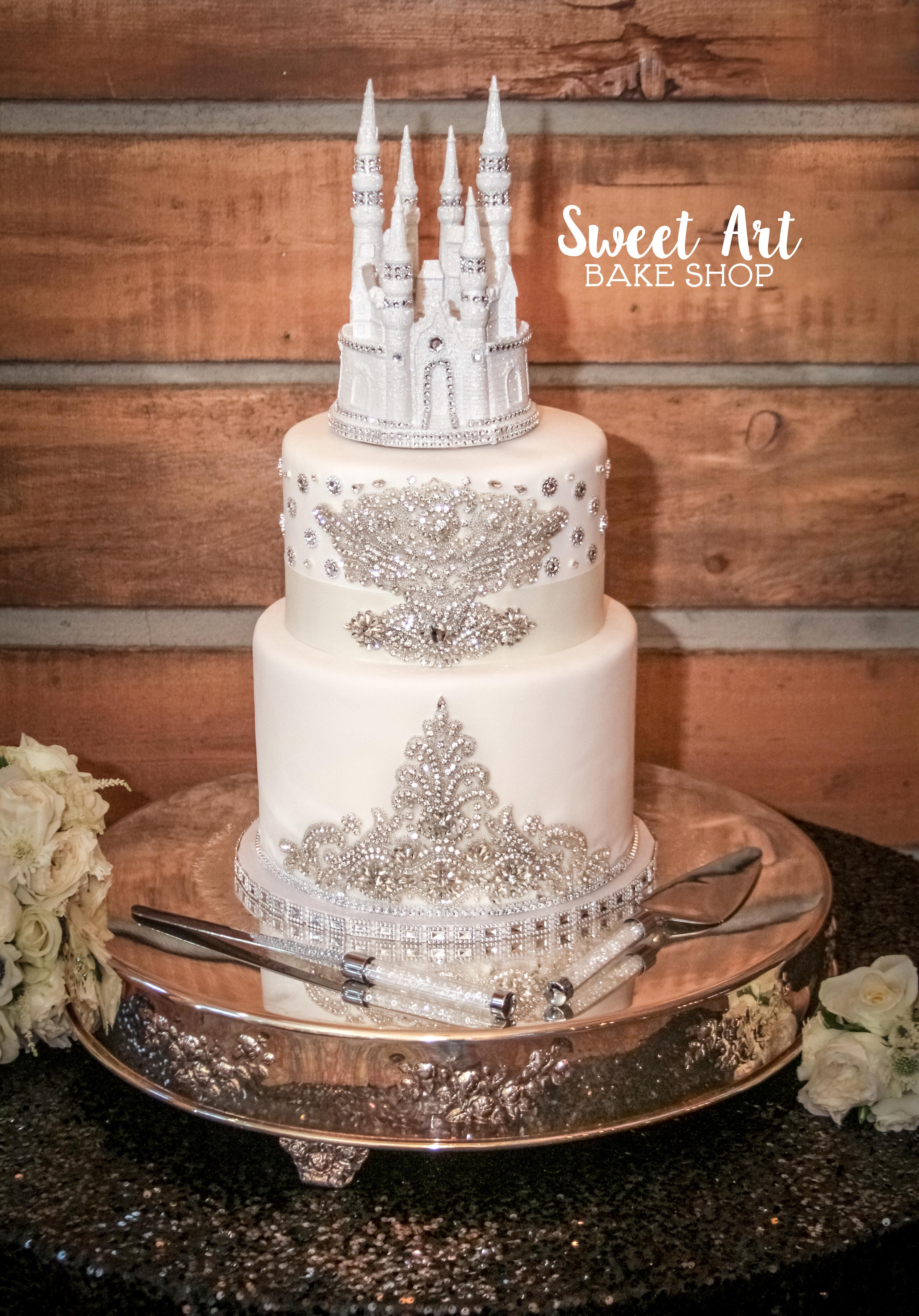 Kristen & Josh's Wedding Cake