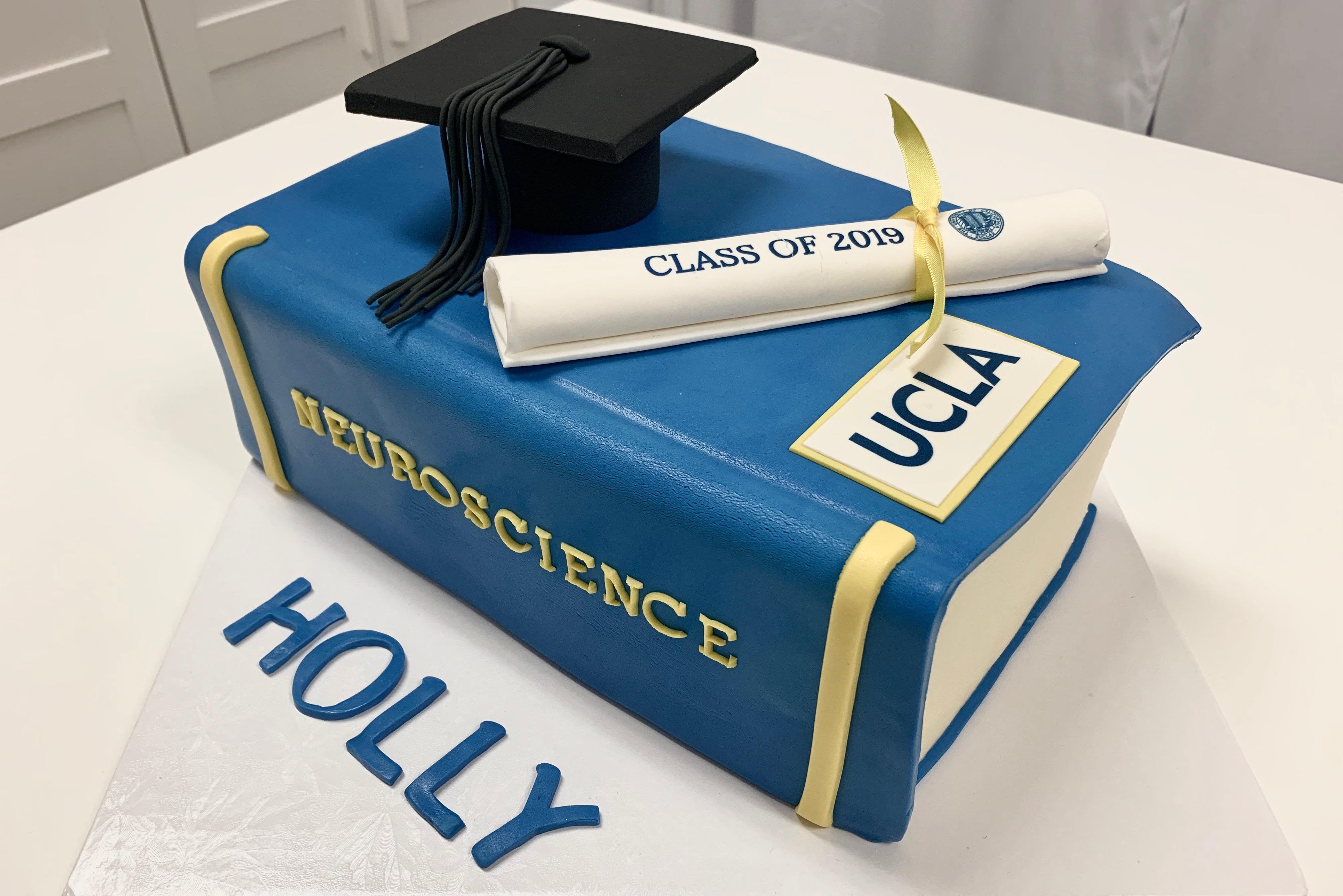 UCLA Graduation Cake
