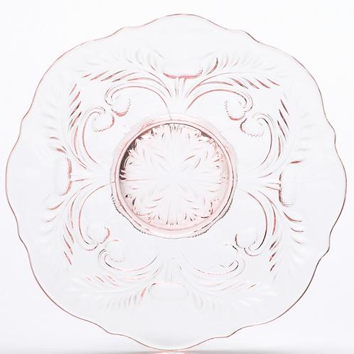 """12"""" Romantic Rose Glass Platter"""