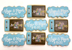 Up Inspired Bridal Shower Cookies