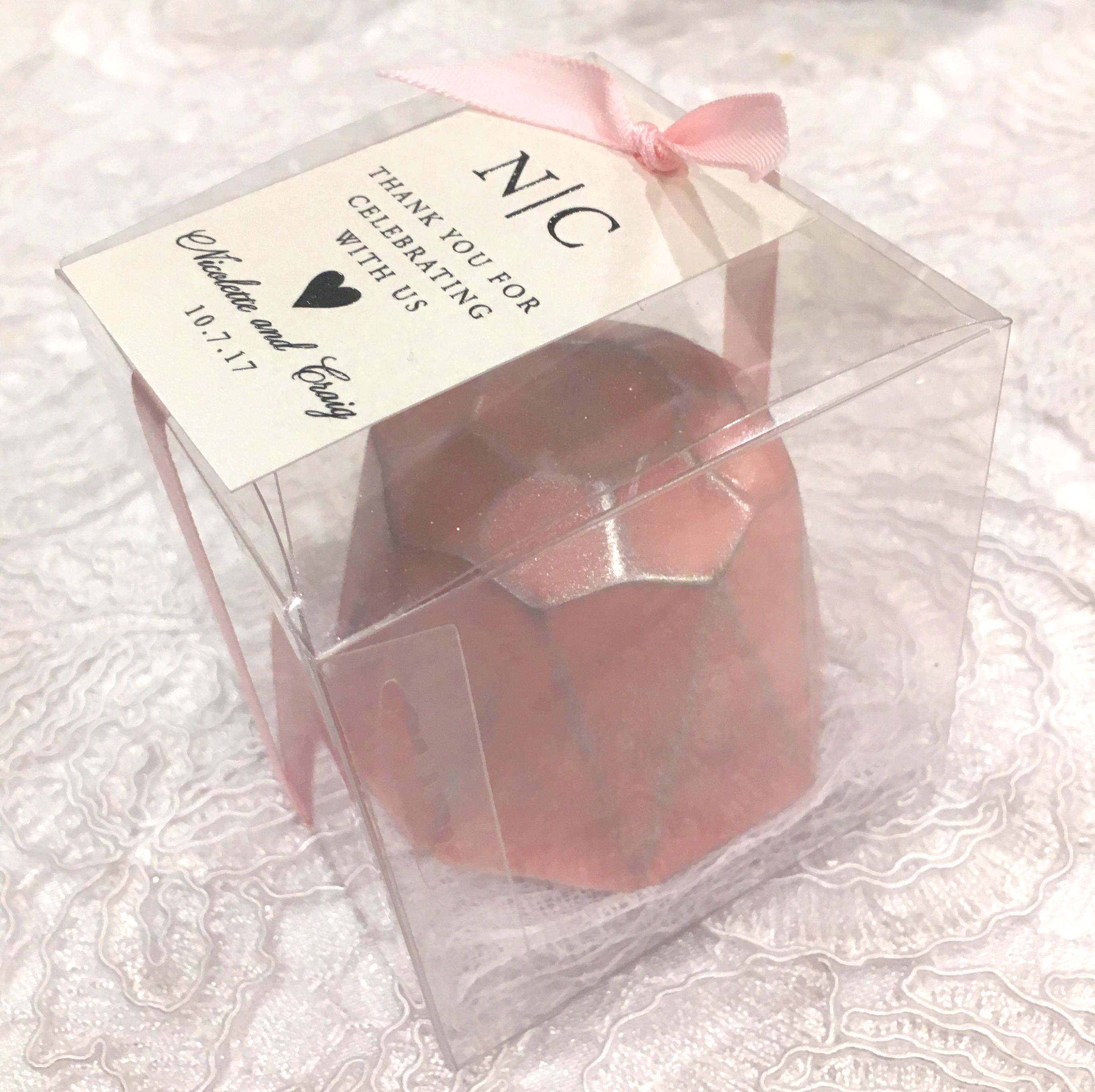 Chocolate Gem Favor