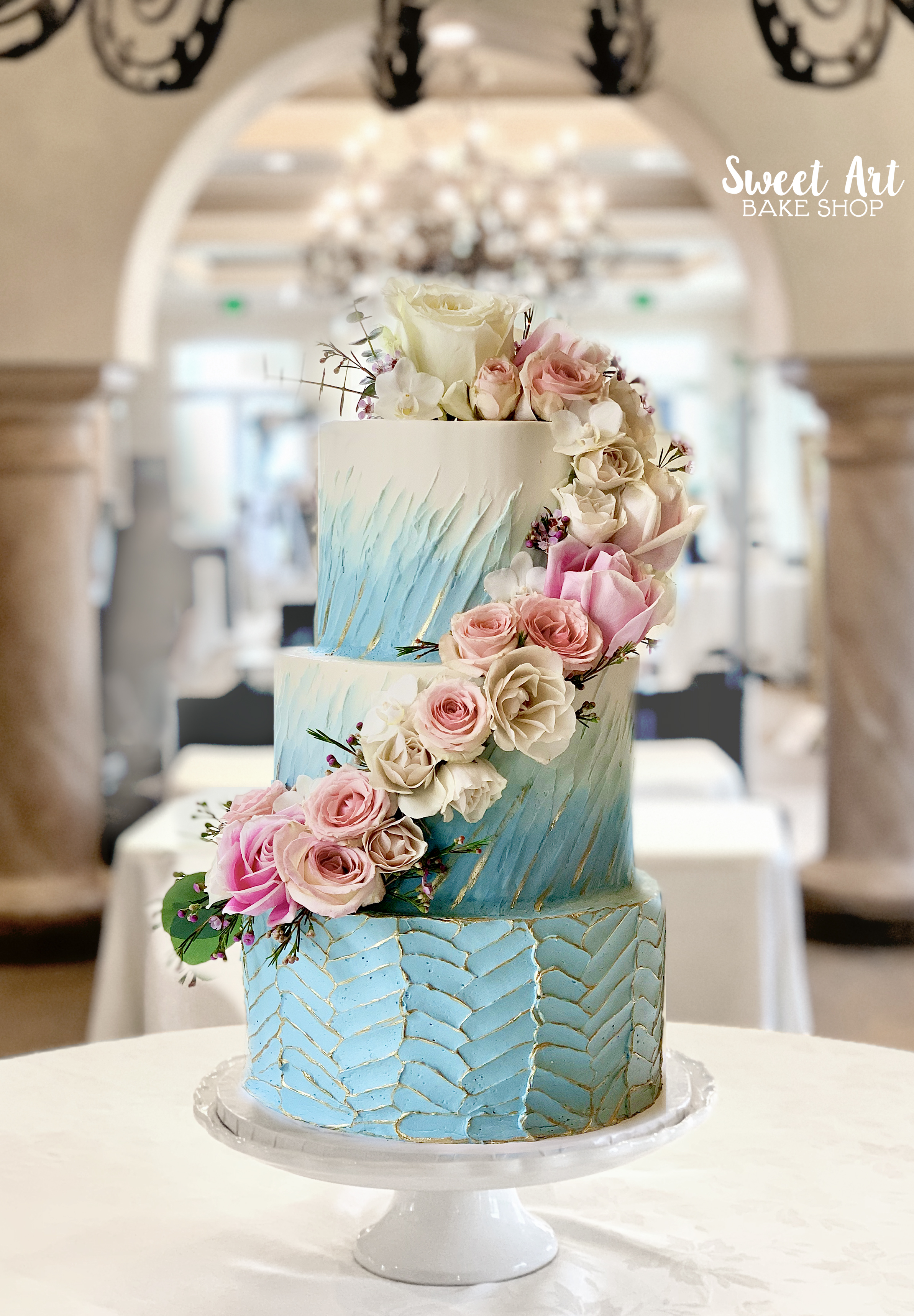 Sweet Art Bake Shop Wedding Cakes