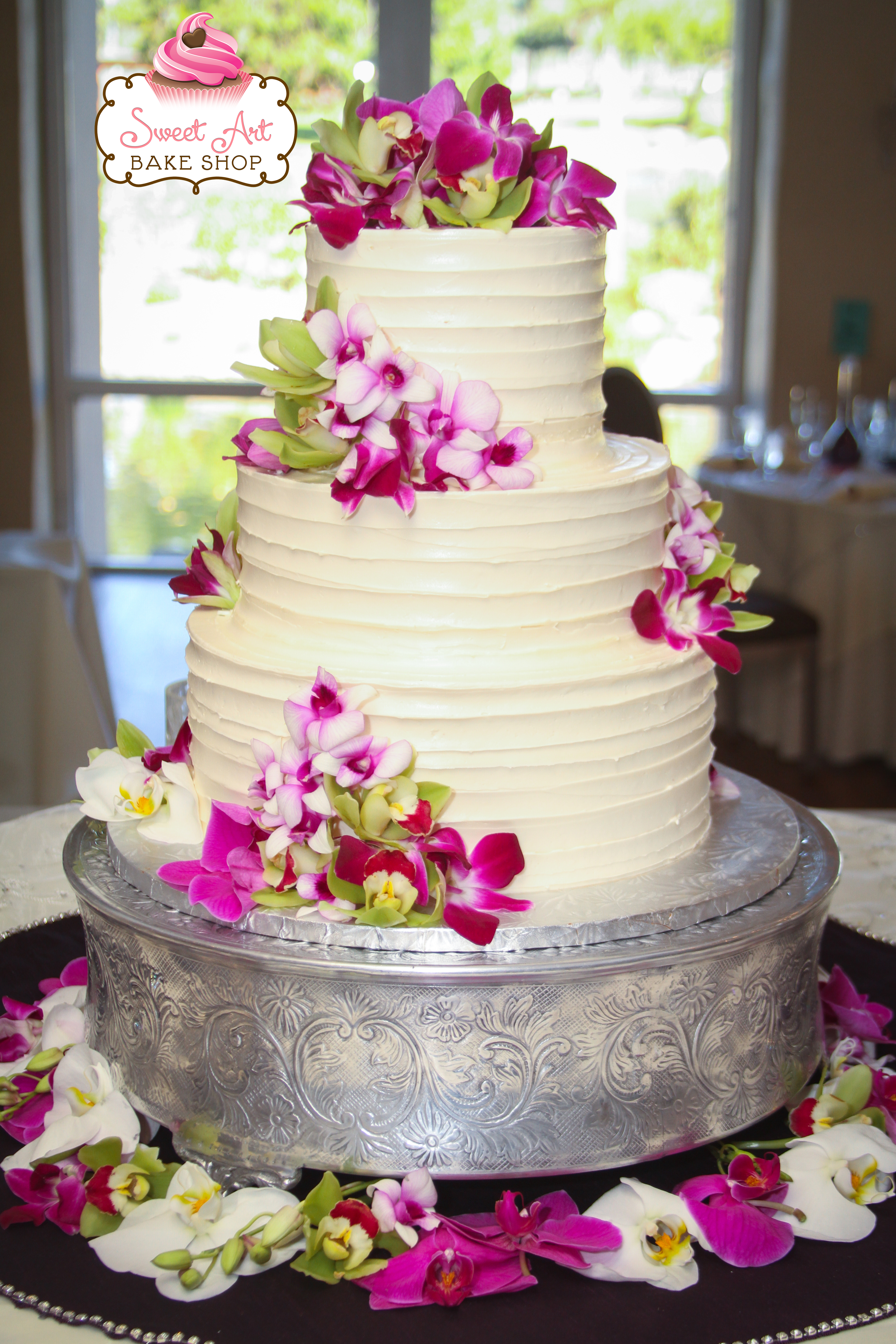 Ashley & Ryan's Wedding Cake