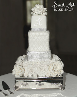 Nicole & Jay's Wedding Cake