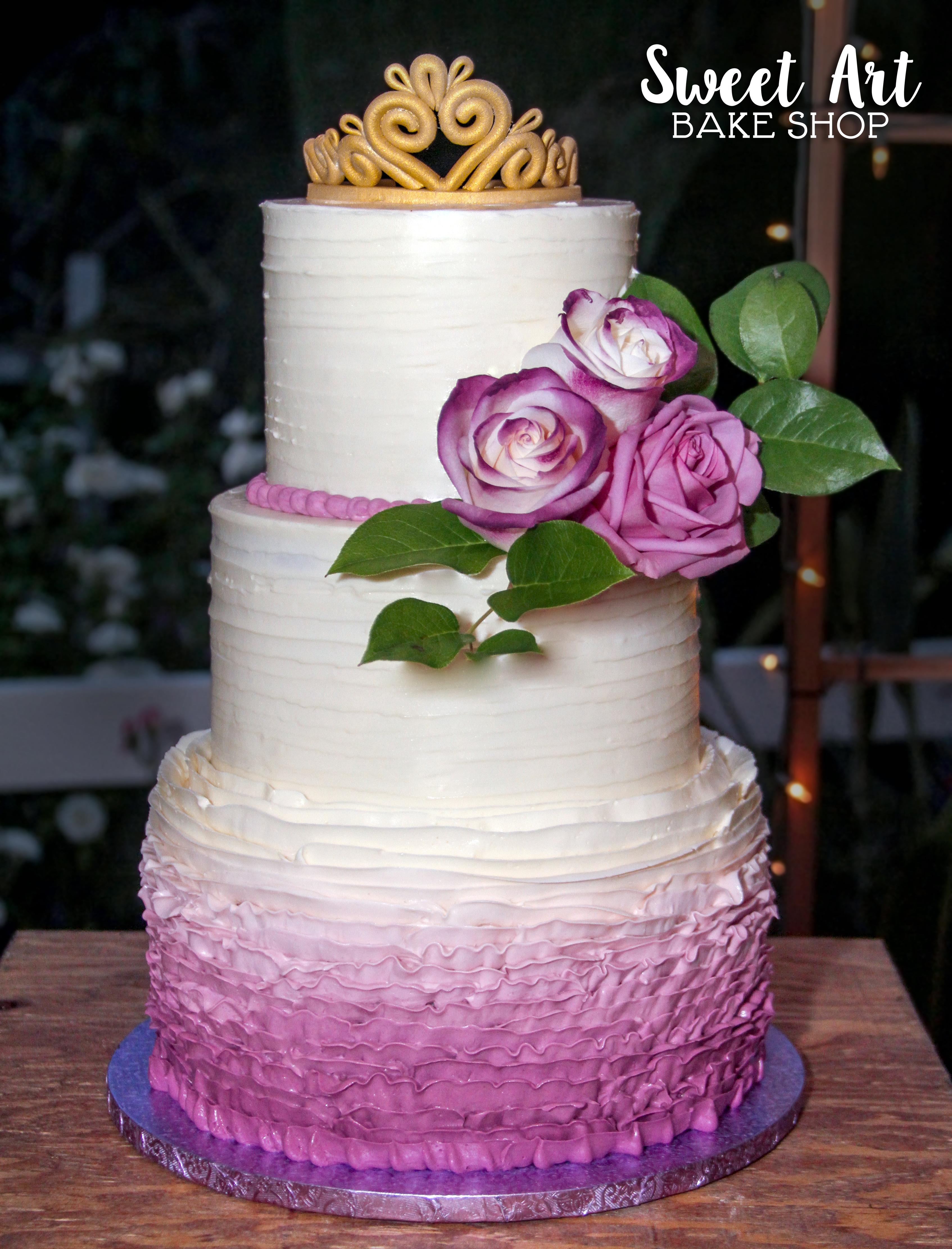 Sweet 16 Quinceanera Cake