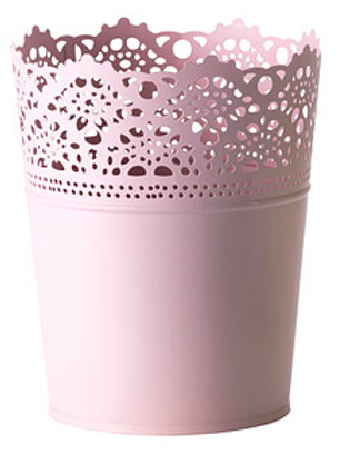 Pink Lace Cup for Cake Pops