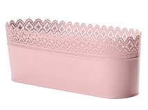 Pink Lace Wide Bucket