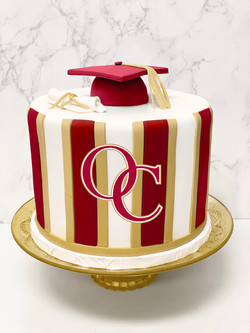 Oaks Christian Graduation Cake