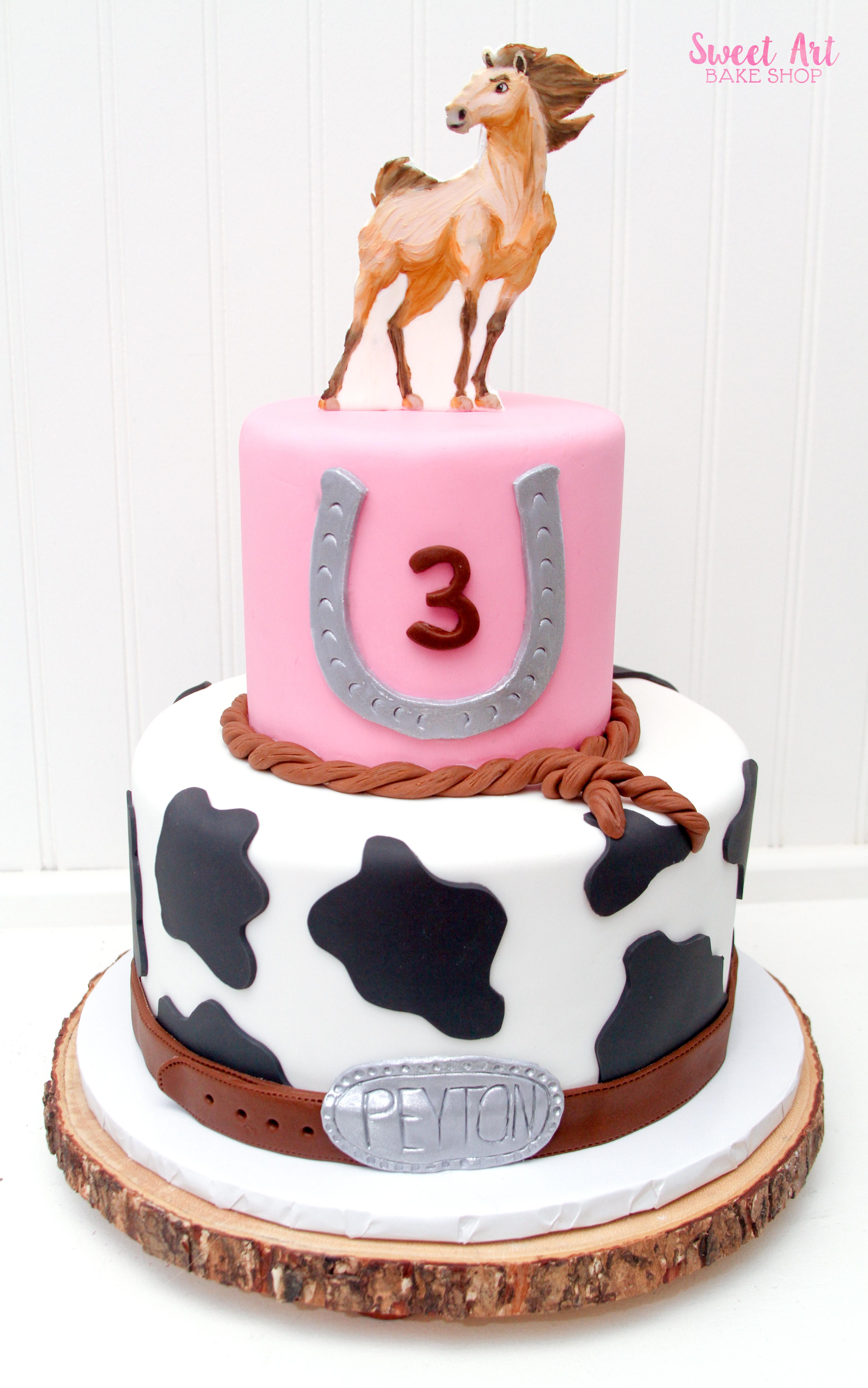 Peyton's Spirit Horse Cake
