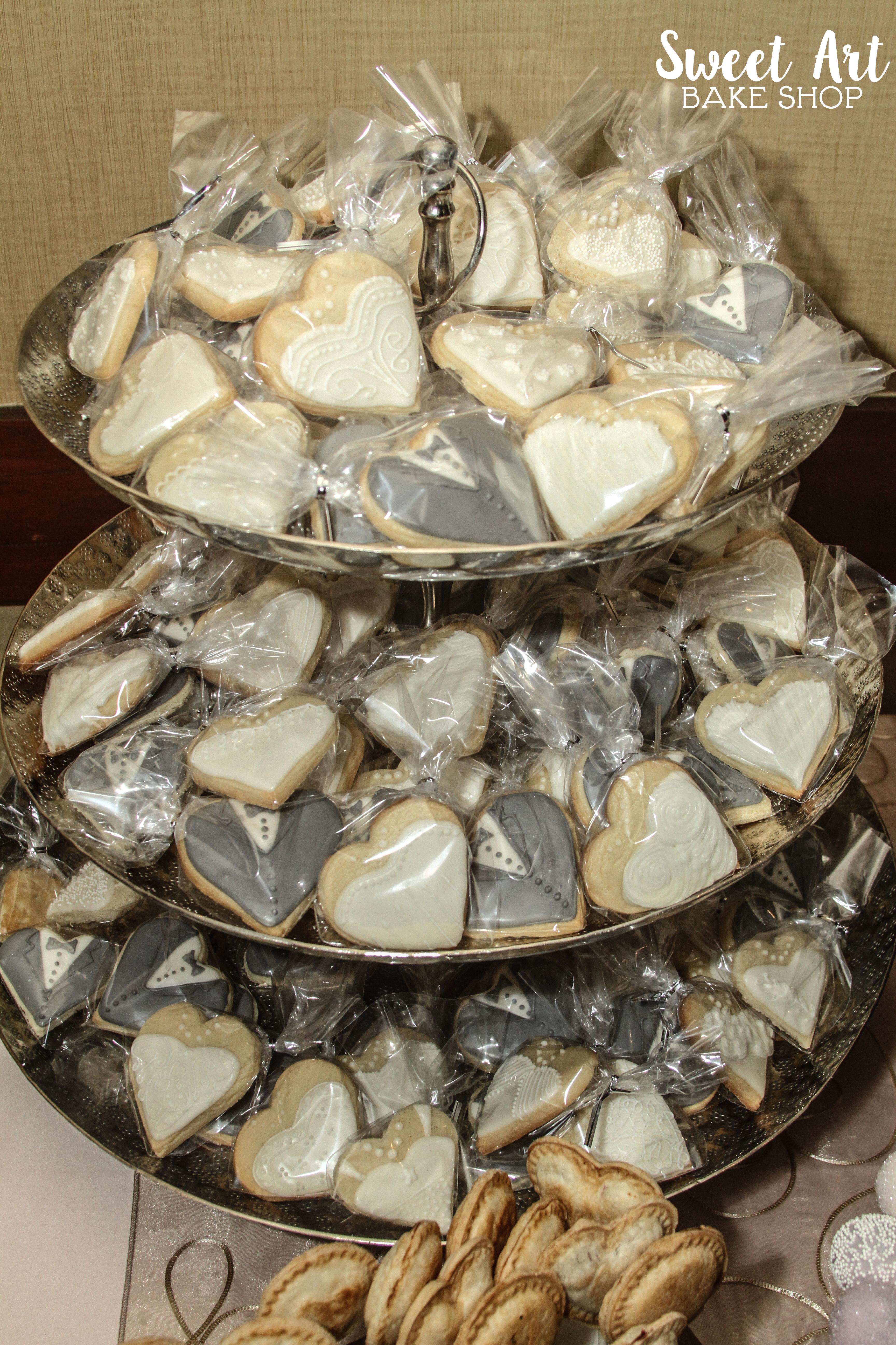 Bride & Groom Sugar Cookies