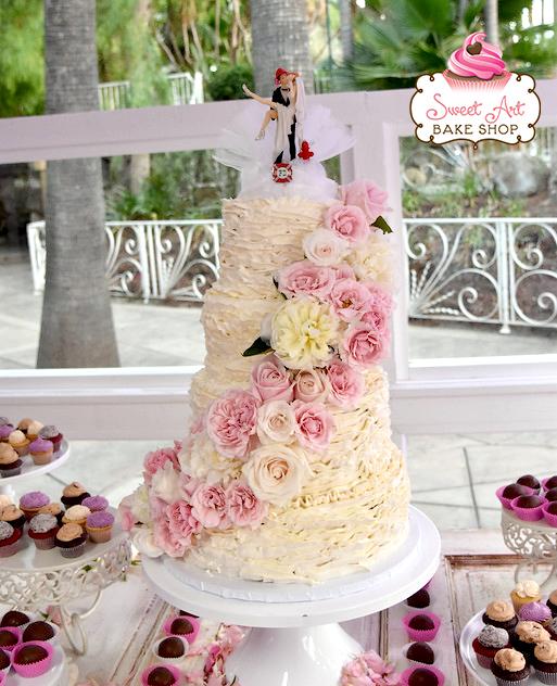 Brittany & Jonathan's Wedding Cake
