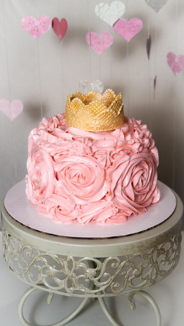 Princess Miranda's Smash Cake
