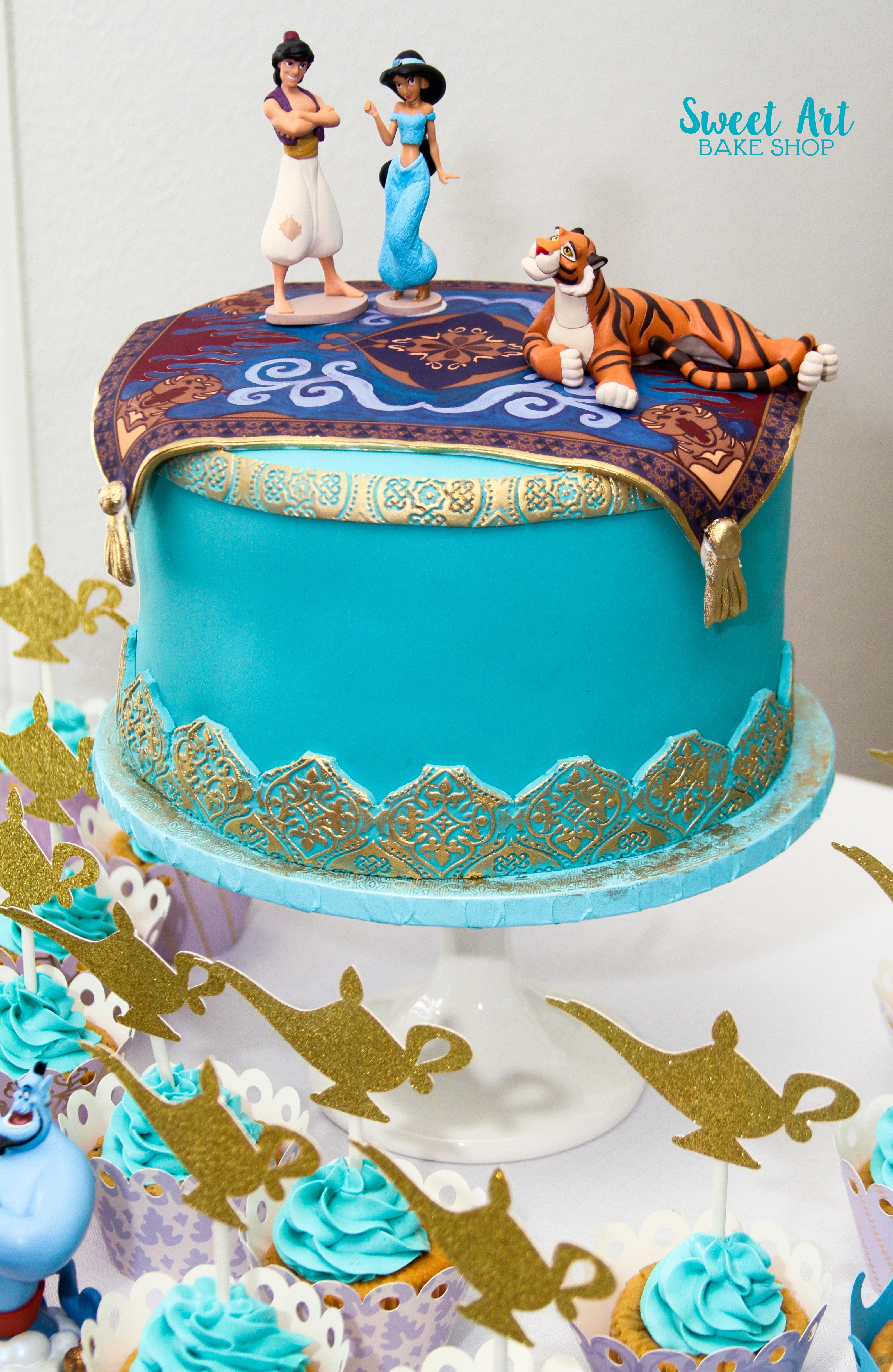 Alladin & Jasmine Cake