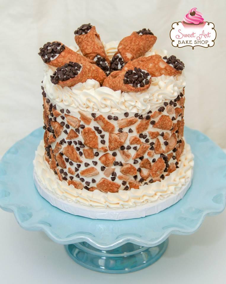 Holy Cannoli Cake
