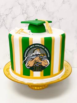 Royal High School Graduation Cake