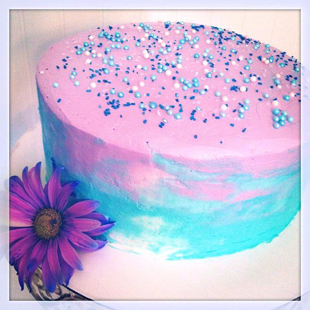 Sherbet Swirl Cake