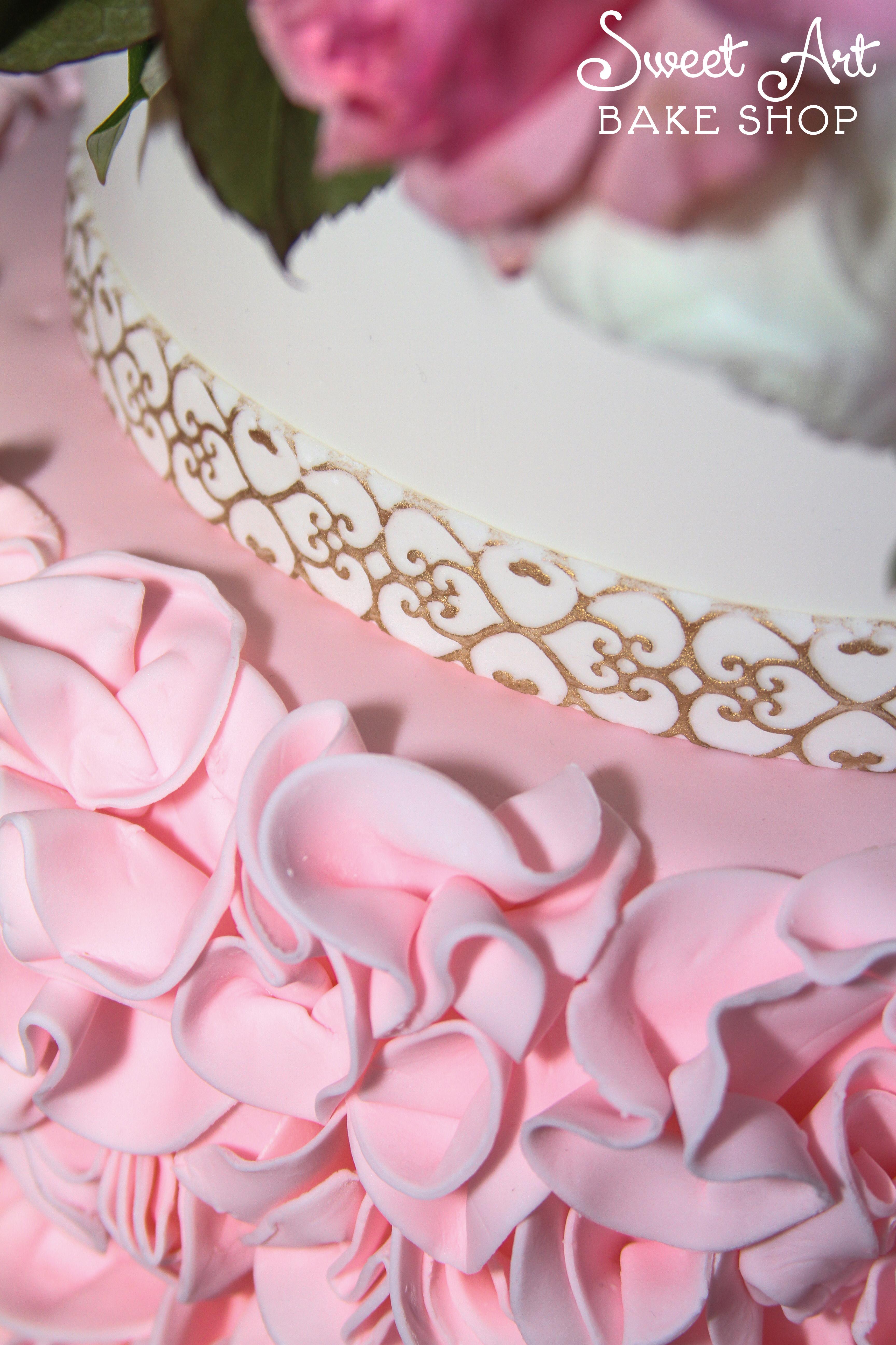 Lindsay & Josh's Wedding Cake