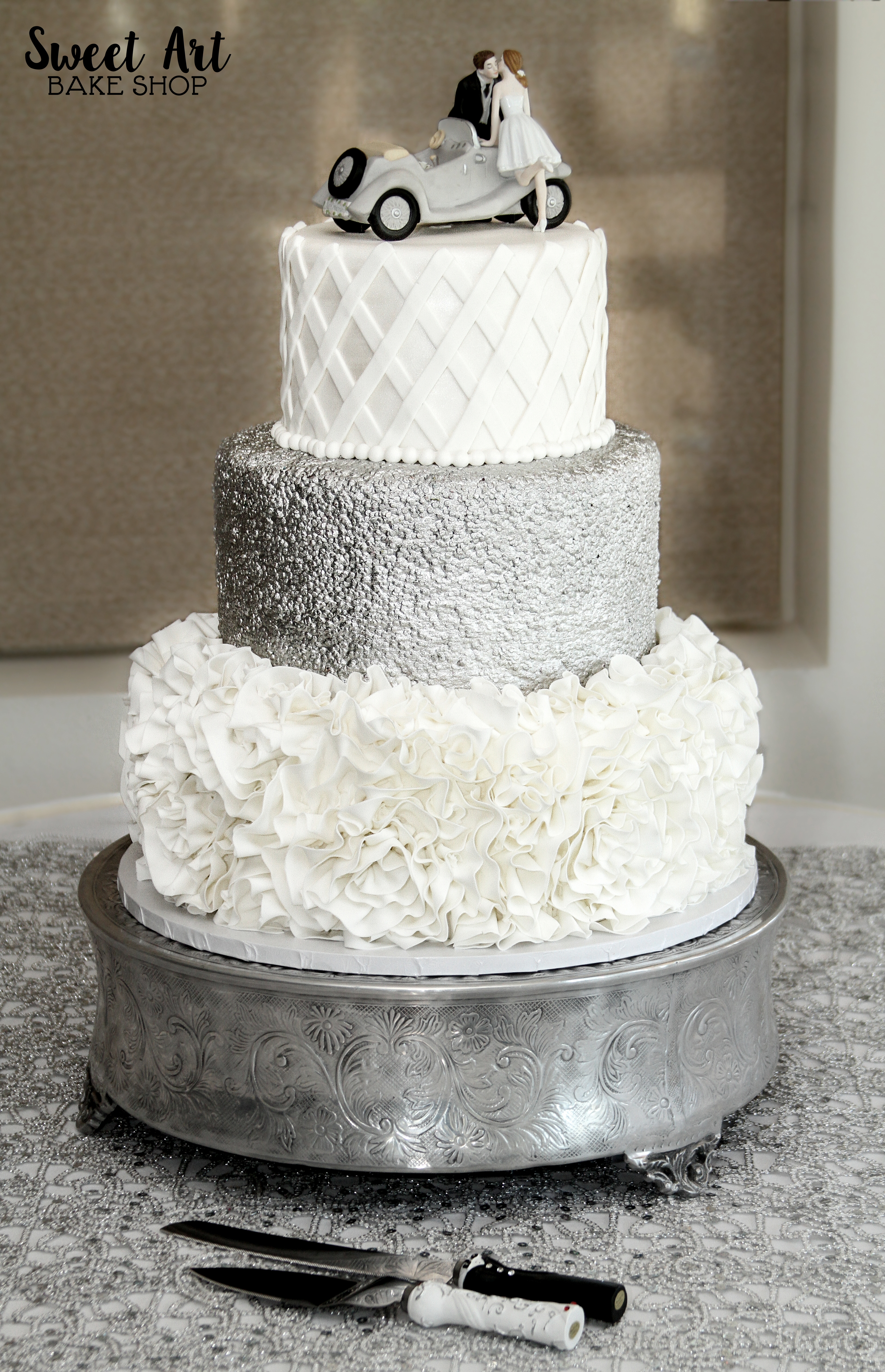 Shoshannah & Kenny's Wedding Cake