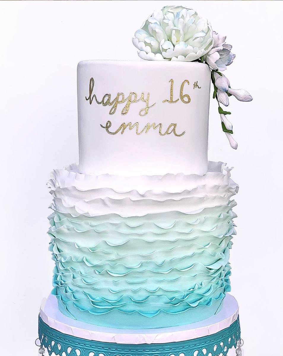 Emma's Sweet 16 Cake