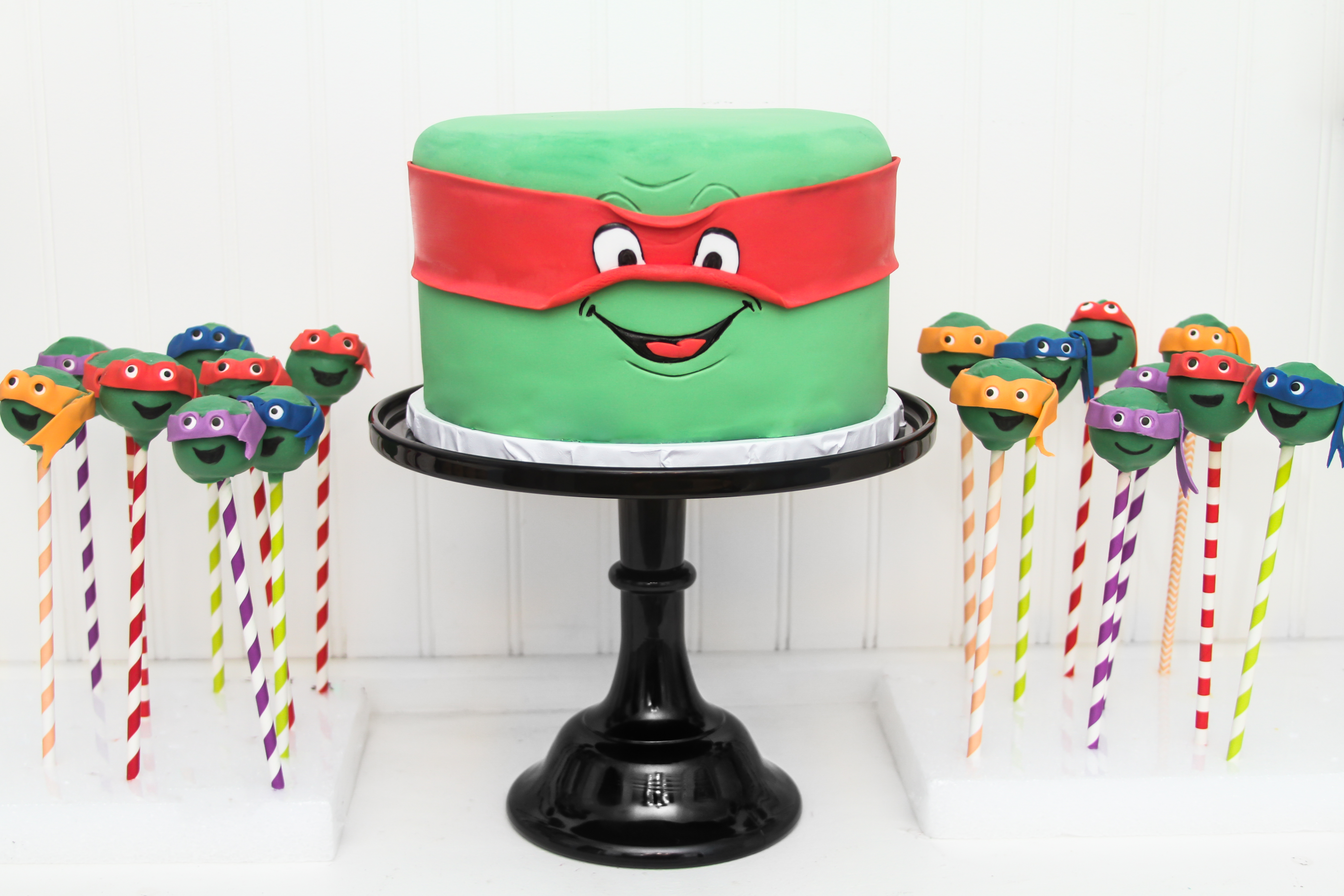 Ninja Turtle Cake Pops $4