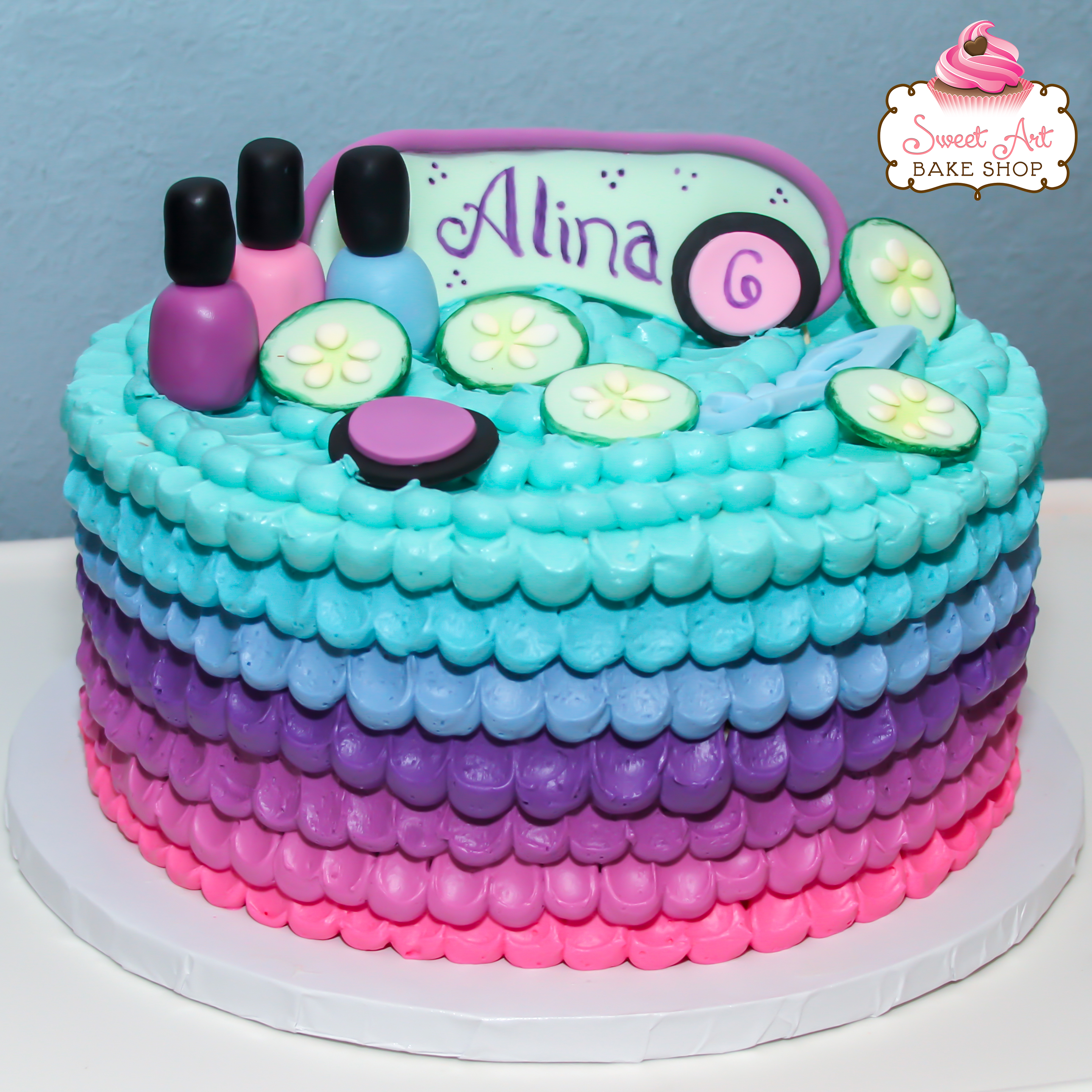 Sweet Art Bake Shop Kid Birthday Cakes