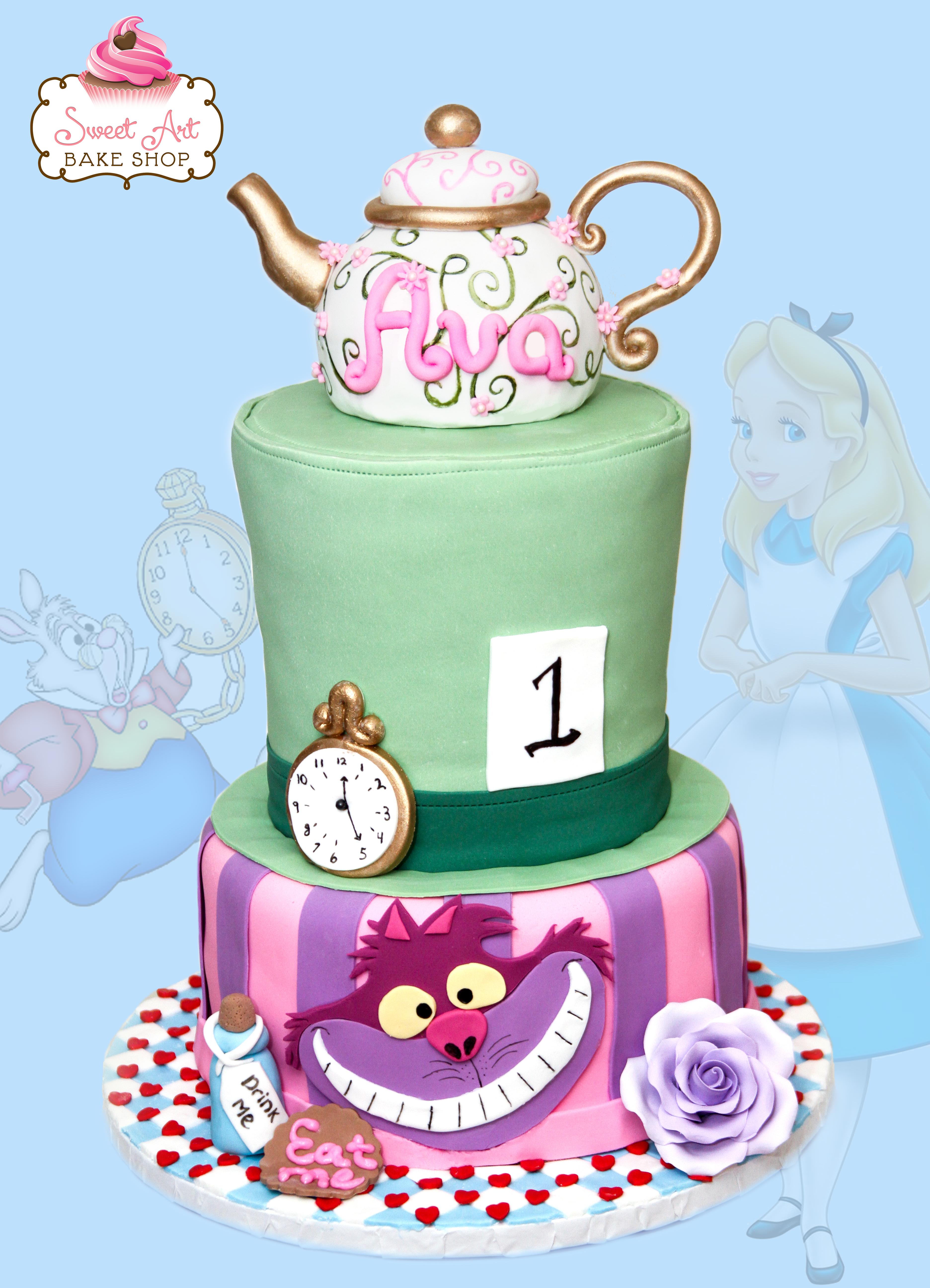 Ava in One-derland Cake