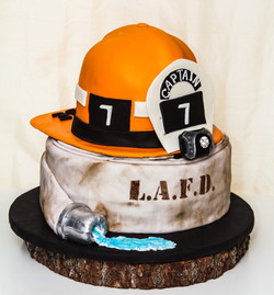 Fire Chief Promotion Cake