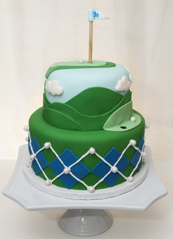 Casey's 30th Birthday Golf Cake