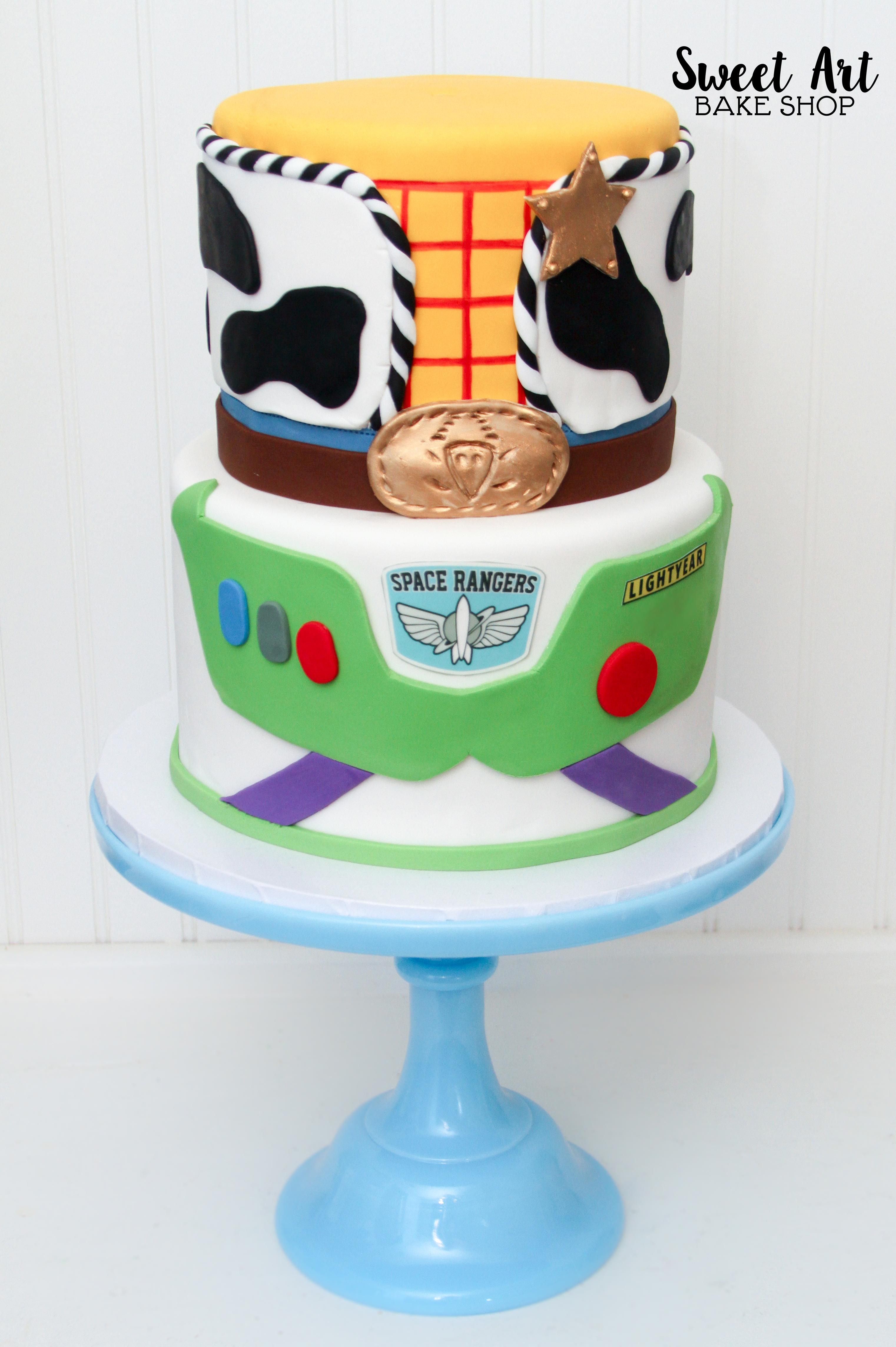 Buzz & Woody Cake