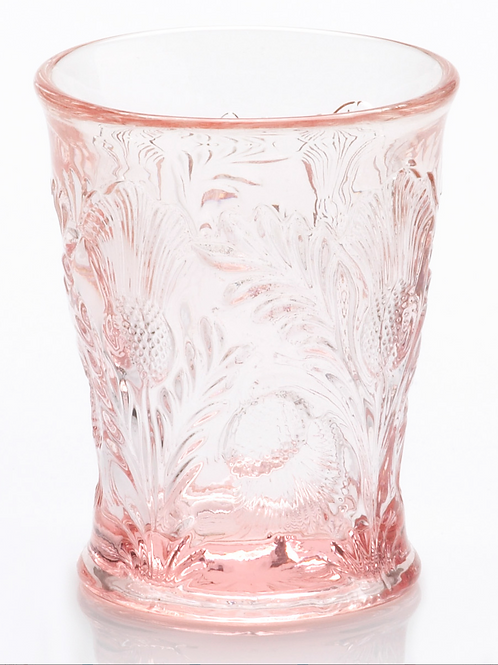 Romantic Rose Glass Tumbler for Cake Pops