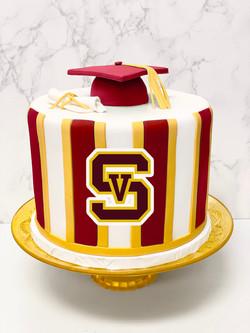 Simi Valley High School Graduation Cake