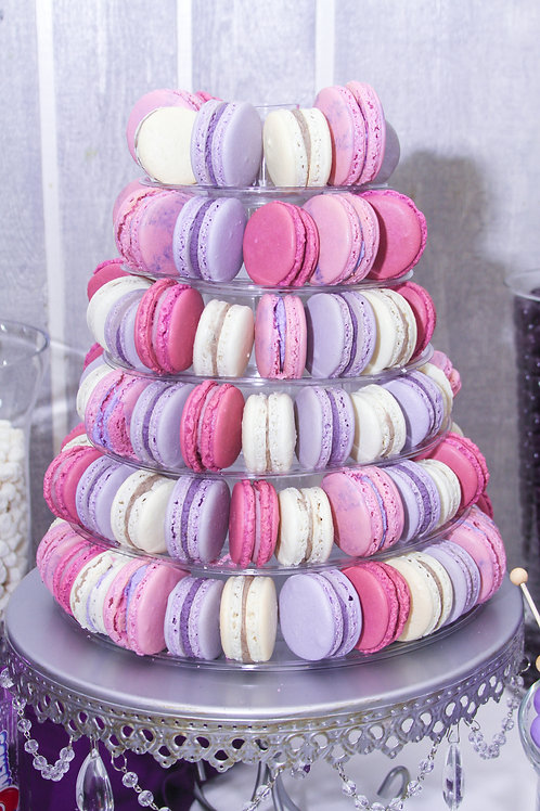 French Macaron Cookie Tower