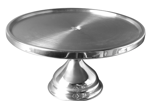 """12"""" Stainless Steel Cake Stand"""