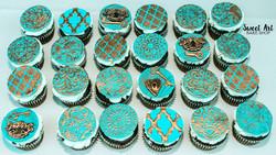 Moroccan Wedding Cupcakes