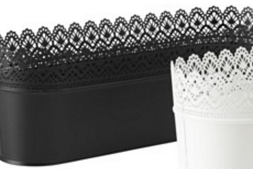 Black Wide Lace Bucket for Cake Pops & Pie Pops