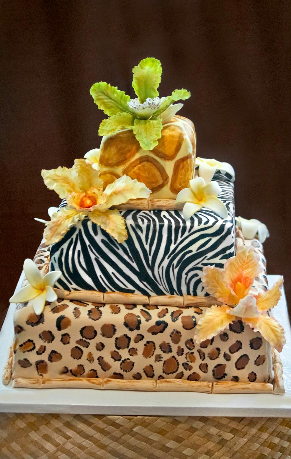 Jessica's Safari Cake