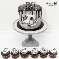 Zack's 30th Tattoo Birthday Cake