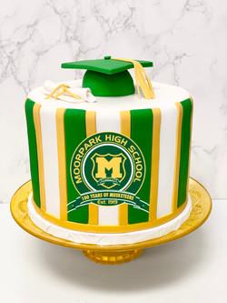 Moorpark High School Graduation Cake