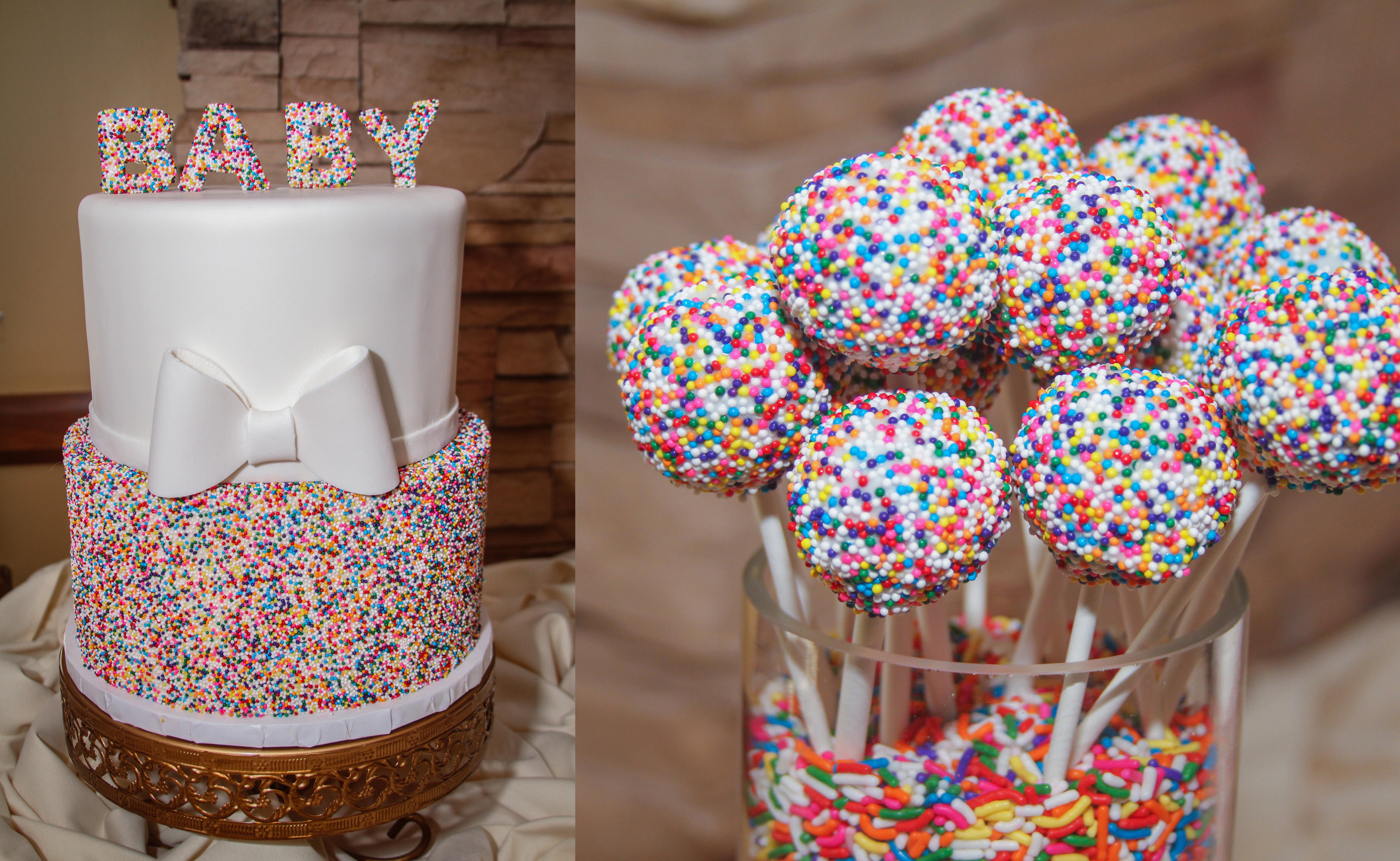 Sprinkle Cake Pops $2.50