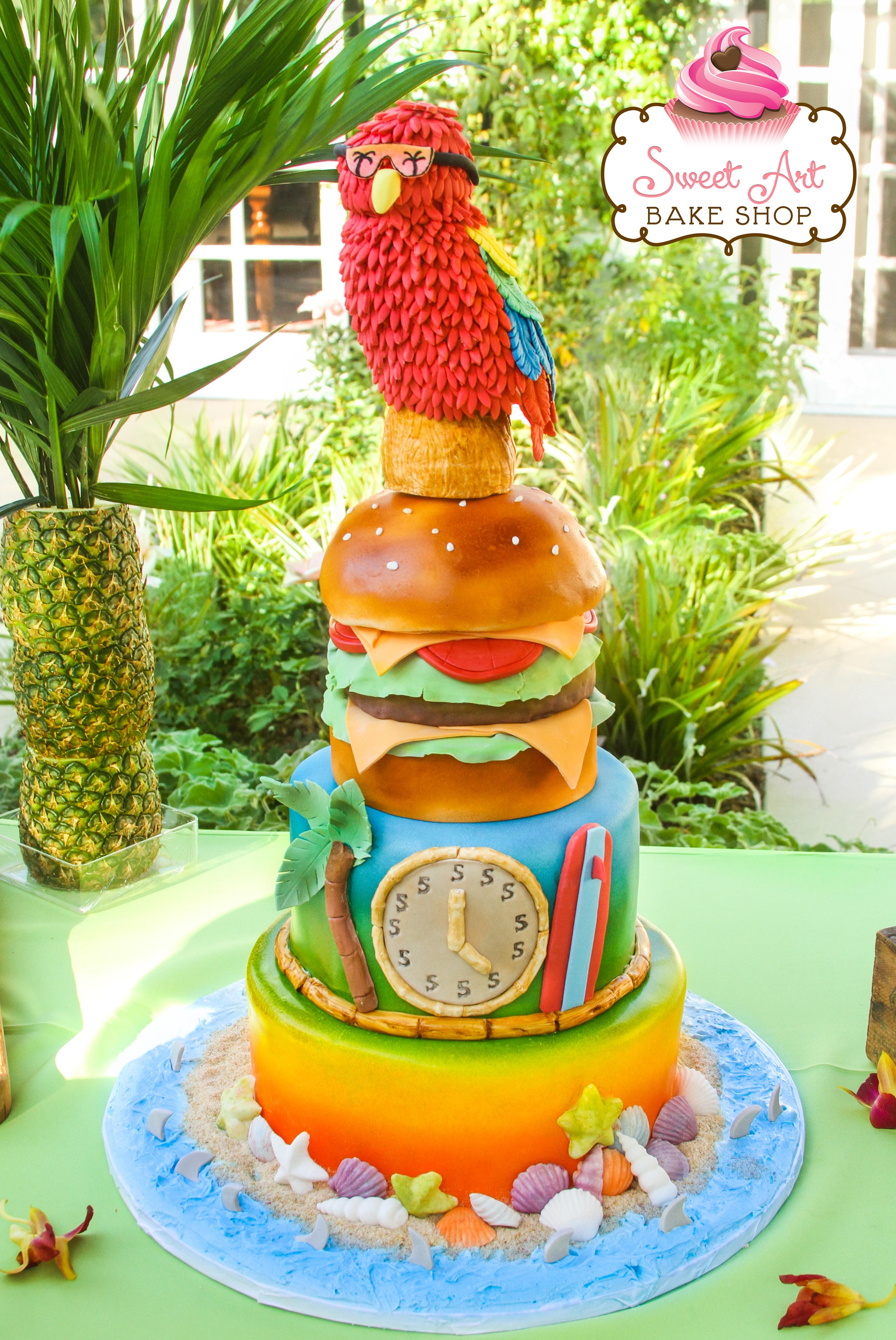 Jimmy Buffet Margaritaville Cake