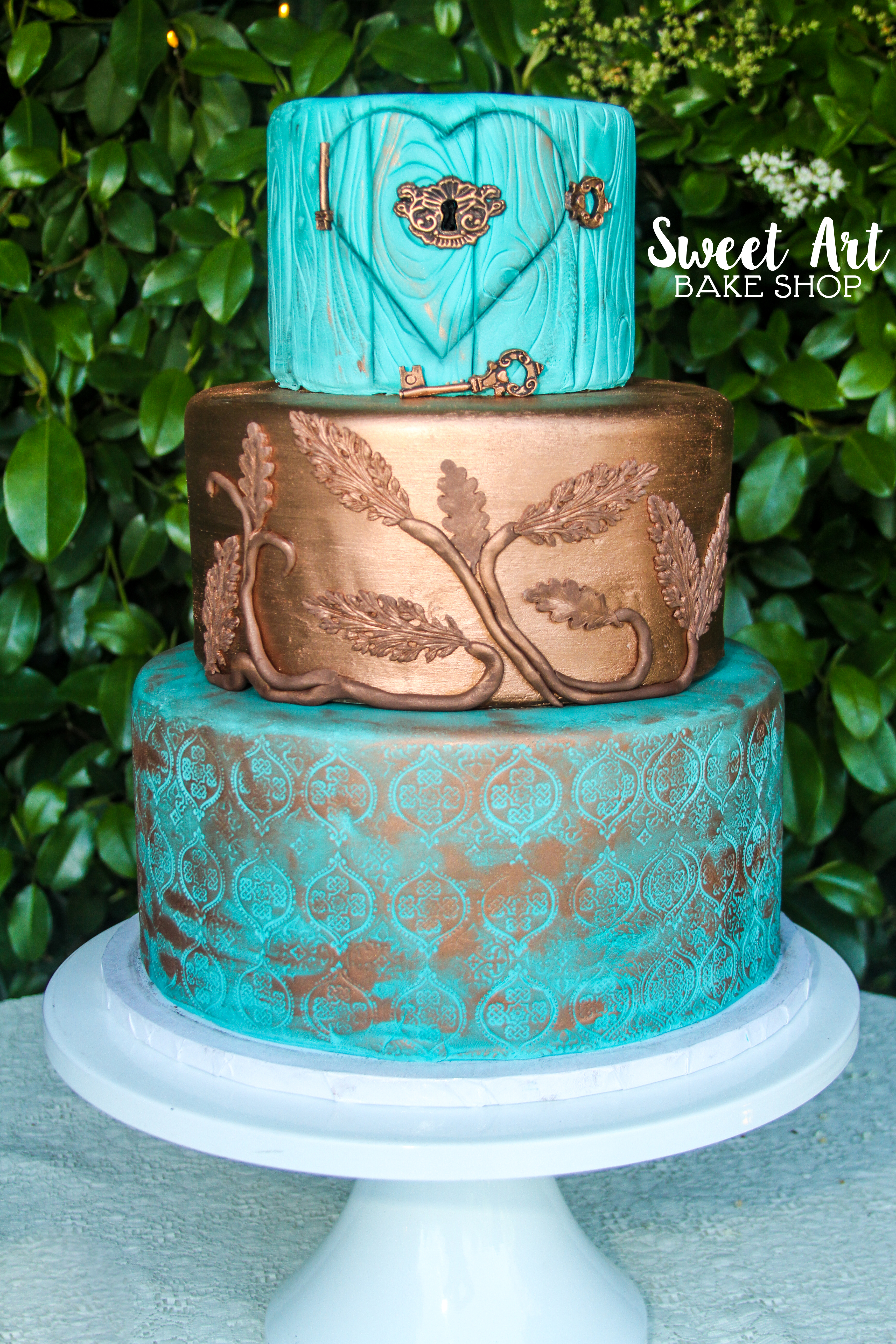Moroccan Wedding Cake