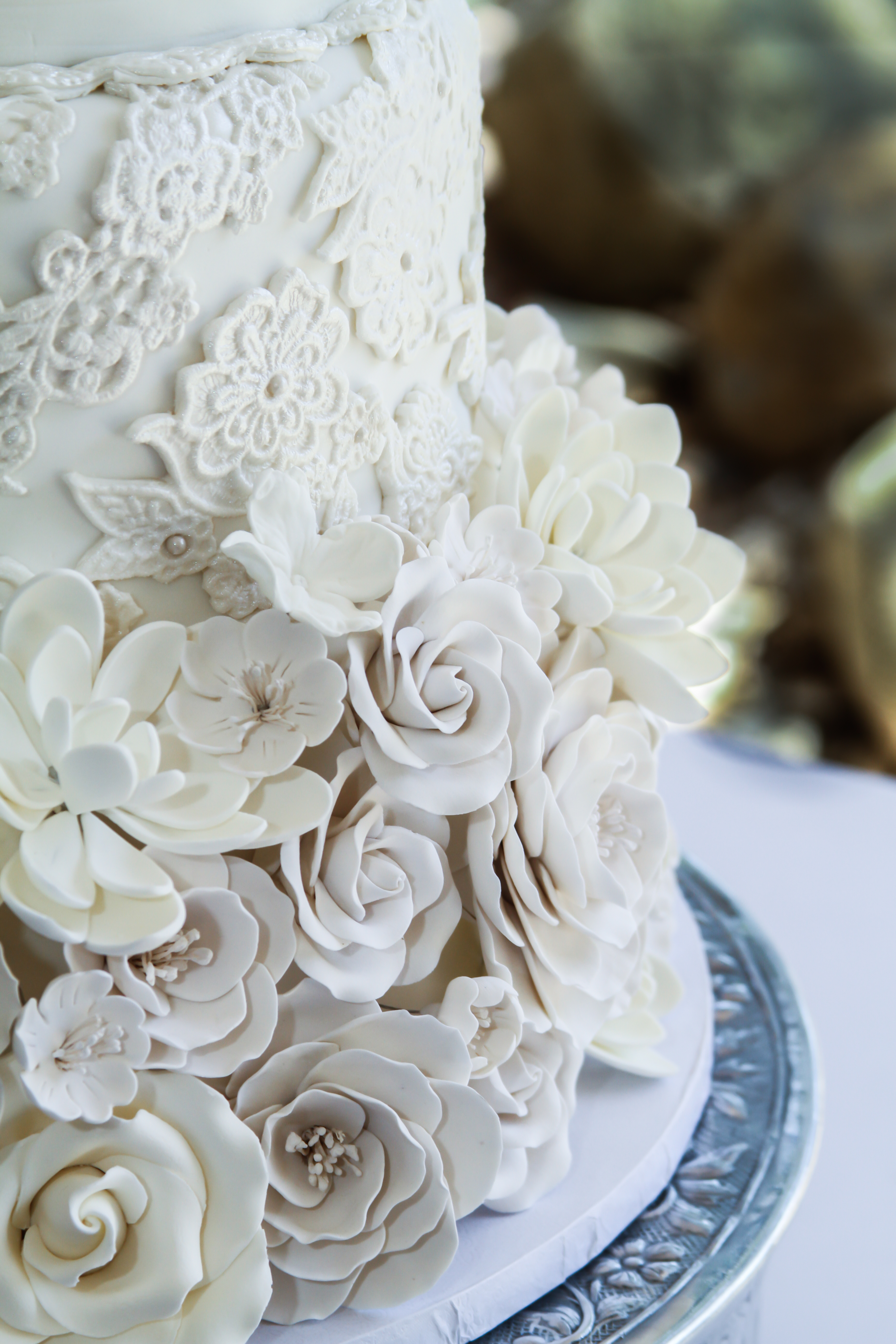 Details of Christa & Courtney's Cake