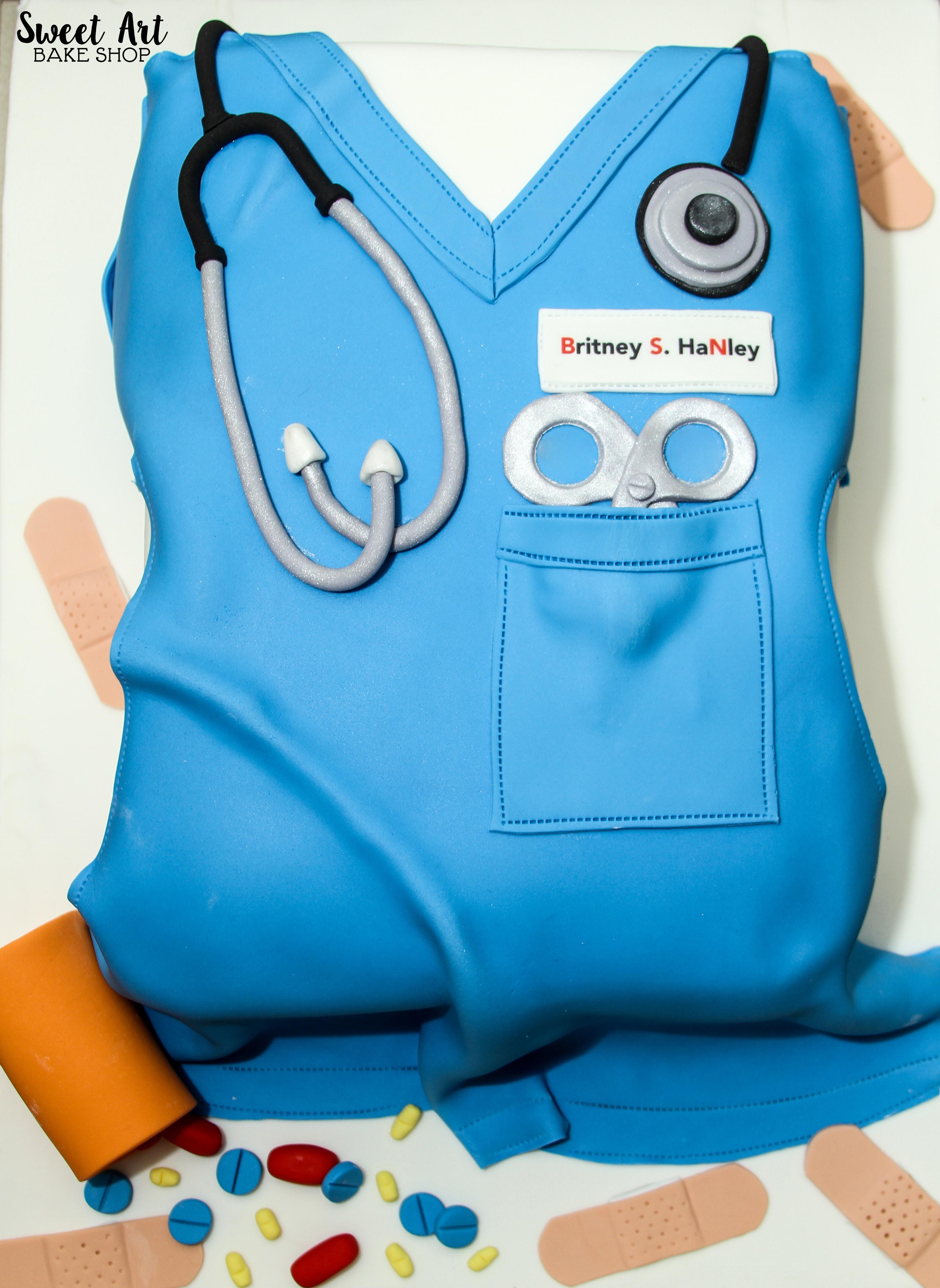 Britney's Nurse Graduation Cake