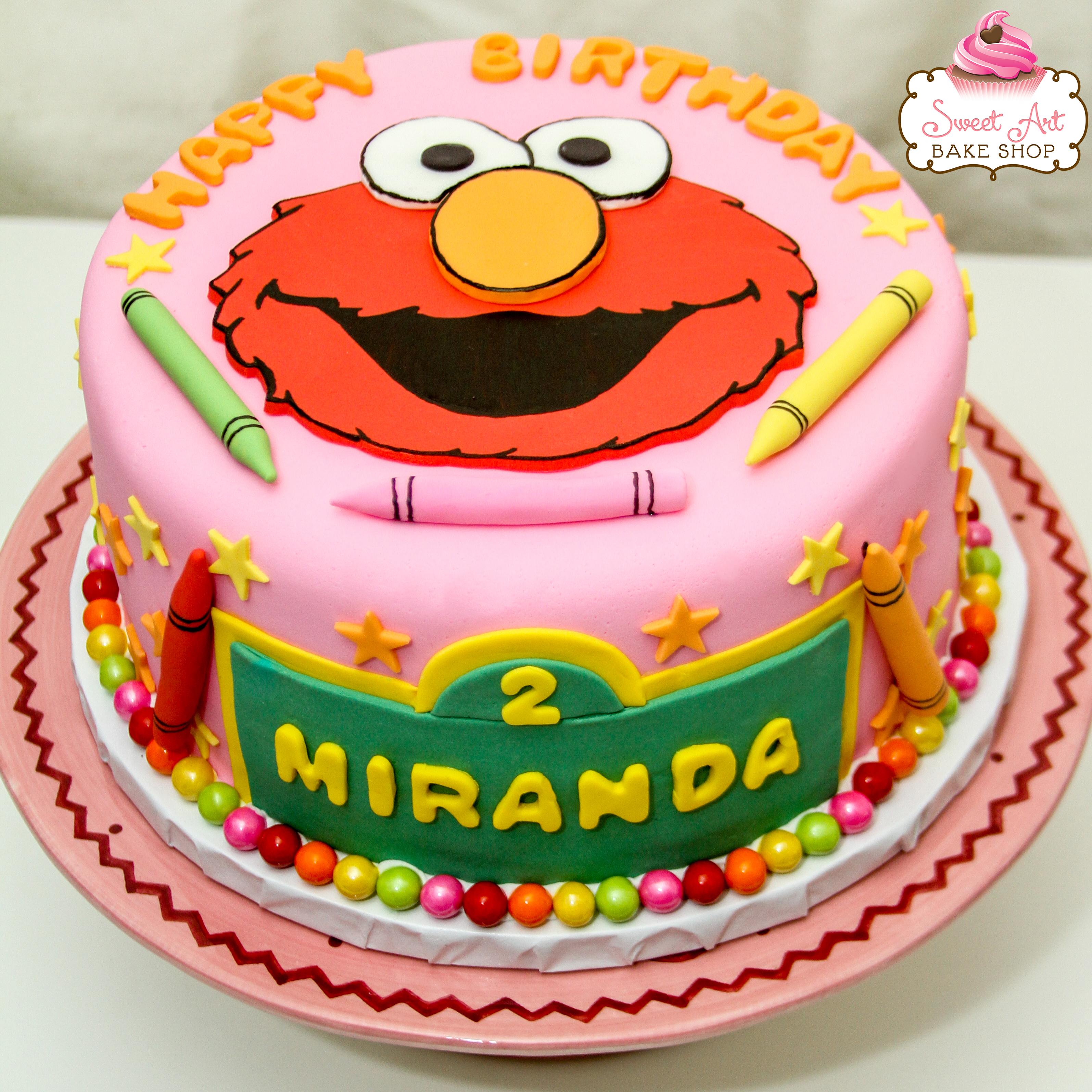 Elmo Cake