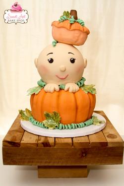 Autumn Baby Cake