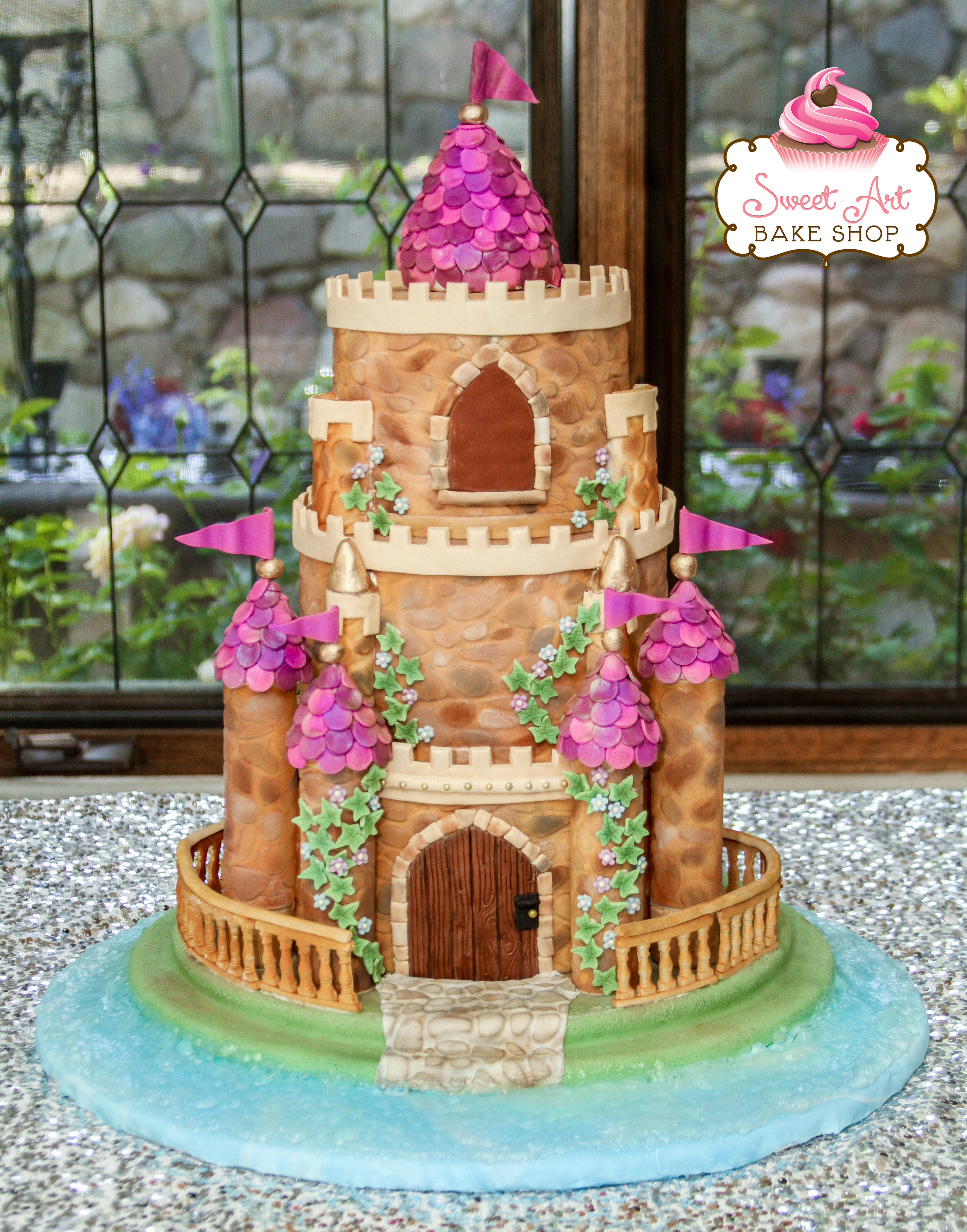 Matt & Tara's Fairytale Castle