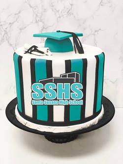 Santa Susana High School Graduation Cake