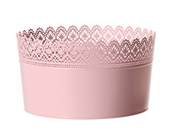 Pink Lace Bucket for Cake Pops & Pie Pops