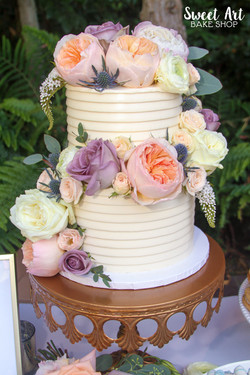 Jackie & Adam's Wedding Cake